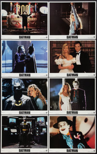 """Batman (Warner Brothers, 1989). Lobby Card Set of 8 (11"""" X 14""""). Action. ... (Total: 8 Items)"""