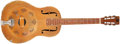 Musical Instruments:Resonator Guitars, 1930-33 National Triolian Yellow Resophonic Guitar, #823P. ...