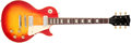 Musical Instruments:Electric Guitars, 1973-75 Gibson Les Paul Deluxe Sunburst Solid Body Electric Guitar,#103066. ...