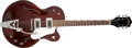 Musical Instruments:Electric Guitars, 1963 Gretsch Tennessean Burgundy Hollow Body Electric Guitar,#54320. ...