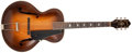 Musical Instruments:Acoustic Guitars, 1936 Epiphone Triumph Sunburst Acoustic Archtop Guitar, #9540. ...