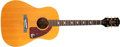 Musical Instruments:Acoustic Guitars, 1960s Epiphone Texan Natural Acoustic Guitar, #120636. ...