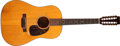 Musical Instruments:Acoustic Guitars, 1966 Martin D12-20 Natural 12-String Acoustic Guitar, #207135....
