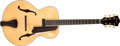 Musical Instruments:Acoustic Guitars, 2005 Eastman Uptown AR805E Natural Acoustic Archtop Guitar,#0467....