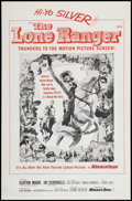 "Movie Posters:Western, The Lone Ranger (Warner Brothers, 1956). Military Style One Sheet(27"" X 41""). Western.. ..."