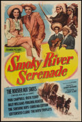 "Movie Posters:Western, Smoky River Serenade (Columbia, 1947). One Sheet (27"" X 41""). Western.. ..."