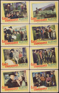 "Movie Posters:Western, Colt Comrades (United Artists, 1943). Lobby Card Set of 8 (11"" X 14""). Western.. ... (Total: 8 Items)"