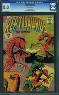 Silver Age (1956-1969):Miscellaneous, Reptisaurus #4 (Charlton, 1962) CGC VF 8.0 Off-white pages.