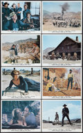 """Movie Posters:Western, Once Upon a Time in the West (Paramount, 1969). British Mini Lobby Card Set of 8 (8"""" X 10"""") and Photos (2) (7.75"""" X 9.75""""). ... (Total: 10 Items)"""