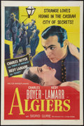 "Movie Posters:Adventure, Algiers (United Artists, R-1953). One Sheet (27"" X 41"").Adventure.. ..."