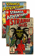 Silver Age (1956-1969):Science Fiction, Comic Books - Assorted Silver and Bronze Age Science Fiction and Horror Comics Group (Various, 1960-77) Condition: Average VG.... (Total: 7 Comic Books)