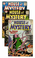 Silver Age (1956-1969):Horror, House of Mystery Group (DC, 1960-61) Condition: Average VG+....(Total: 15 Comic Books)