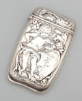 Silver & Vertu:Smalls & Jewelry, AN AMERICAN SILVER REPOUSSÉ MATCH SAFE. Whiting Manufacturing Company, New York, New York, circa 1900. Marks: (W with gr... (Total: 1 Item Items)