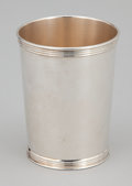 Silver Holloware, American:Cups, A SET OF SIX AMERICAN SILVER CUPS . Maker unknown, American, circa1950. Marks: TREES, (tree), STERLING. 3-3/4 inche...(Total: 6 Items)
