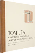 Books:Signed Editions, Tom Lea. A Selection of Paintings and Drawings From the Nineteen-Sixties. San Antonio: University of Texas Insti...