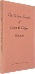 Books:Signed Editions, [Henry O. Flipper]. Negro Frontiersman. The Western Memoirs of Henry O. Flipper, First Negro Graduate of West Point...