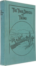 Books:First Editions, J. Marvin Hunter, compiler and editor. The Trail Drivers ofTexas....