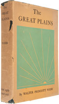 Books:First Editions, Walter Prescott Webb. The Great Plains. Boston: Ginn andCompany, 1931....