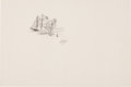 Miscellaneous, Garth Williams. Original preliminary drawings for illustrations forStuart Little, 1945, that appeared on page... (Total: 2Items)