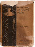 Books:Literature Pre-1900, W. B. Yeats. The Land of Heart's Desire. London: T. Fisher Unwin, 1894.. First edition, first issue, with no f...