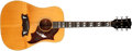 Musical Instruments:Acoustic Guitars, 1974-1975 Gibson Dove Custom Natural Acoustic Guitar, #300097...