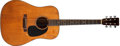 Musical Instruments:Acoustic Guitars, 1949 Martin D-18 Natural Acoustic Guitar, #112783....