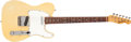 Musical Instruments:Electric Guitars, 1967 Fender Telecaster Cream Solid Body Electric Guitar,#202787....