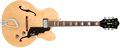 Musical Instruments:Acoustic Guitars, 1997 Guild X-150 Natural Archtop Electric Guitar, #AK150350....