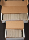 Baseball Cards:Lots, 1973 Topps Baseball 1st Series Two Vending Box Contents (900+cards). ...