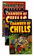 Golden Age (1938-1955):Horror, Chamber of Chills File Copies Group (Harvey, 1951-54) Condition:Average FN+.... (Total: 12 Comic Books)