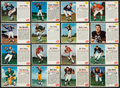 Football Cards:Sets, 1962 Post Cereal Football Complete Set (200). ...