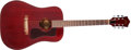 Musical Instruments:Acoustic Guitars, 1990s Guild D-25 Cherry Acoustic Guitar, #57464. ...