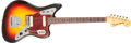 Musical Instruments:Electric Guitars, 1962 Fender Jaguar Sunburst Electric Solid Body Guitar, #88669. ...