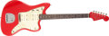 Musical Instruments:Electric Guitars, 1962 Fender Jazzmaster Dakota Red Solid Body Electric Guitar,#80164. ...