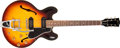 Musical Instruments:Electric Guitars, 1960 Gibson ES330TD Sunburst Semi-Hollow Body Electric Guitar,#R28024. ...