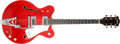 Musical Instruments:Electric Guitars, 1980s Gretsch Chet Atkins Nashville Cherry Semi-Hollow ElectricGuitar, #65068. ...