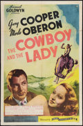 """Movie Posters:Romance, The Cowboy and the Lady (Film Classics, R-1944). One Sheet (27"""" X 41""""). Romance.. ..."""