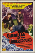 "Movie Posters:War, Paris Underground (Realart, R-1951). One Sheet (27"" X 41""). War.Reissued as Guerilla of the Underground.. ..."