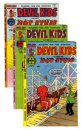Bronze Age (1970-1979):Cartoon Character, Devil Kids Starring Hot Stuff #51-106 File Copy Group (Harvey,1972-81) Condition: Average NM-.... (Total: 56 Comic Books)