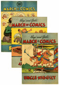 Golden Age (1938-1955):Miscellaneous, March of Comics Group (K. K. Publications, Inc., 1947-51) Condition: Average FN/VF.... (Total: 15 Comic Books)