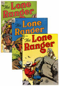 Silver Age (1956-1969):Western, Lone Ranger Group (Dell, 1948-50).... (Total: 6 Comic Books)