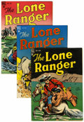 Silver Age (1956-1969):Western, Lone Ranger Group (Dell, 1948-50). ... (Total: 12 Comic Books)