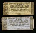 Obsoletes By State:Arkansas, Two Arkansas $10's.. ... (Total: 2 notes)
