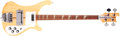 Musical Instruments:Electric Guitars, 1978 Rickenbacker 4001 Mapleglo Solid Body Electric Bass Guitar,#ND2520. ...