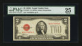 Small Size:Legal Tender Notes, Fr. 1504* $2 1928C Legal Tender Note. PMG Very Fine 25.. ...