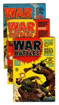 Golden Age (1938-1955):War, War Battles #1-9 File Copies Group (Harvey, 1952-53) Condition:Average VF.... (Total: 9 Comic Books)
