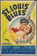 "Movie Posters:Musical, St. Louis Blues (Paramount, 1939). One Sheet (27"" X 41""). Musical.. ..."
