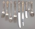Silver Flatware, American:Reed & Barton, AN EIGHTY-EIGHT PIECE AMERICAN SILVER FLATWARE SERVICE . Reed &Barton, Taunton, Massachusetts, circa 1907. Marks: Reed &... (Total: 88 Items)
