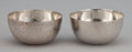 Silver Holloware, American:Open Salts, A PAIR OF AMERICAN SILVER OPEN SALTS . Porter Blanchard, Burbank,California, circa 1960. Marks: STERLING, (logo), POR...(Total: 2 Items)