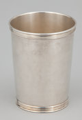 Silver Holloware, American:Cups, A SET OF EIGHT AMERICAN SILVER CUPS . Maker unidentified, American,circa 1950. Marks: TREES, (tree), STERLING. 3-5/...(Total: 8 Items)